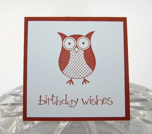 Mini owl bday