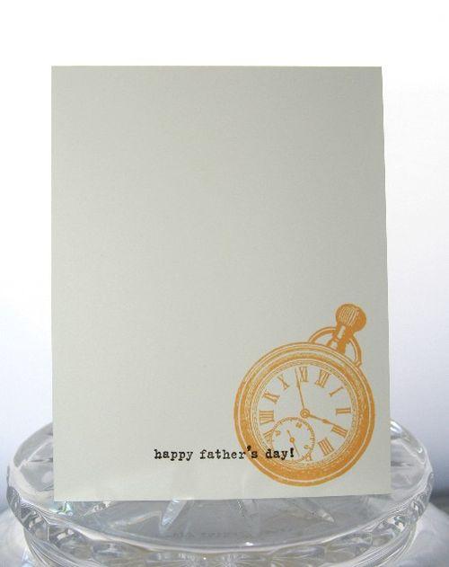 Fathers day pocket watch