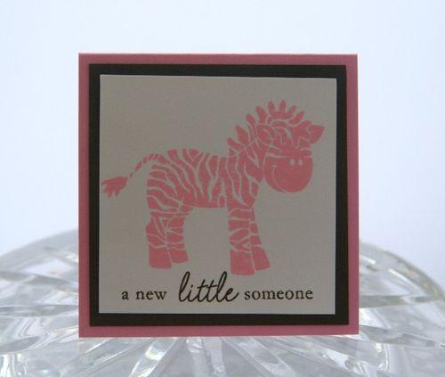 Mini zebra pink