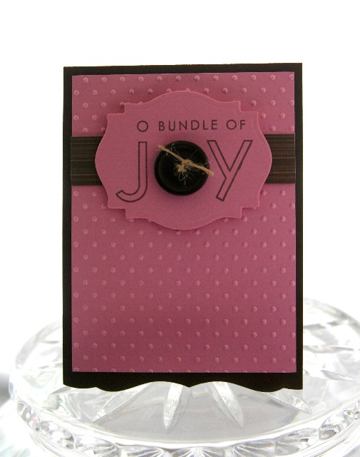 Baby bundle joy pink