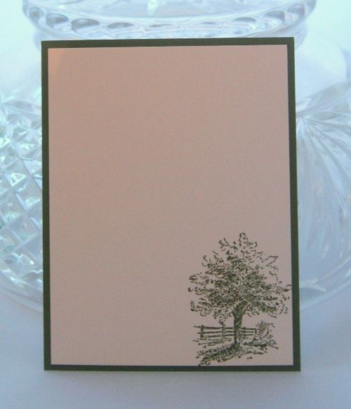 Note card tree