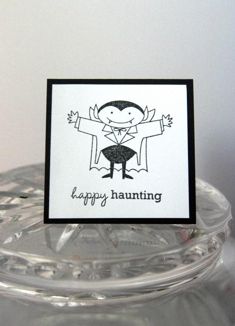 Mini vampire haunting