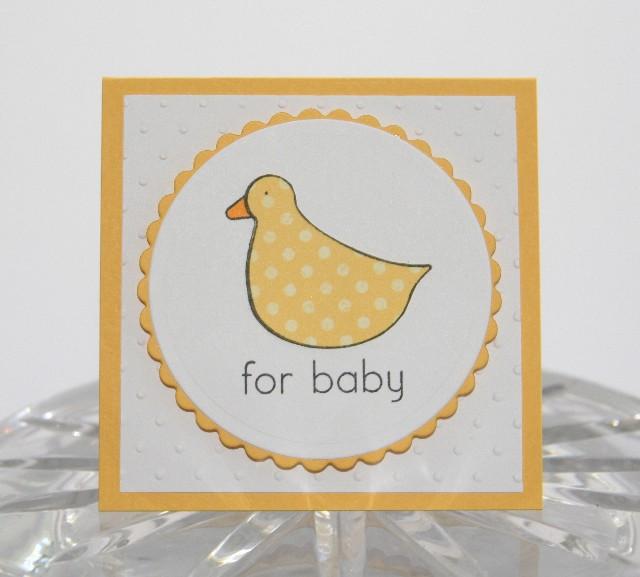Mini duck yellow