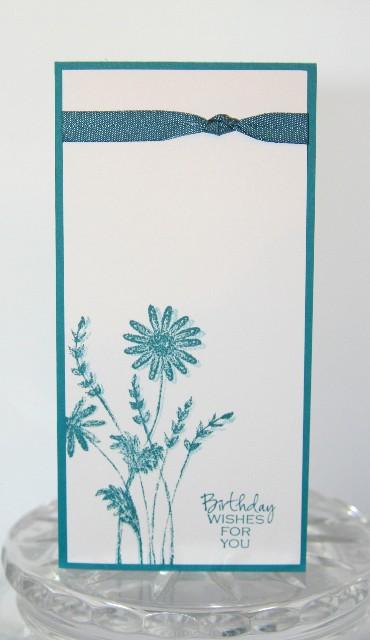 Birthday flowers blue long