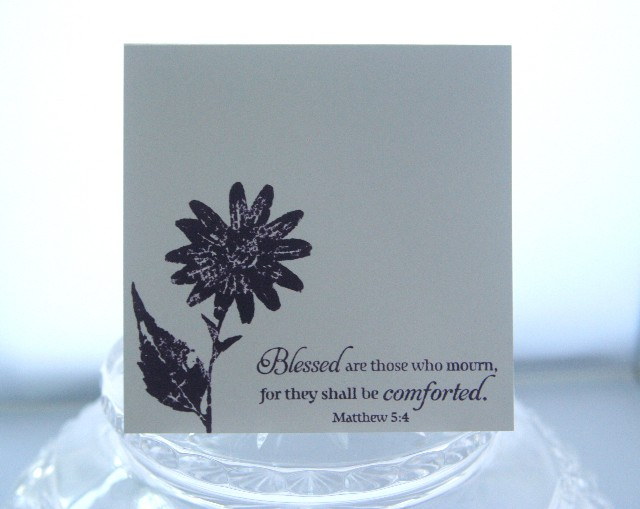 Sympathy mourn comforted