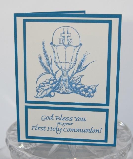 Communion blue