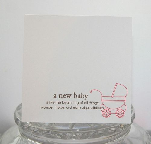 Baby pink carriage