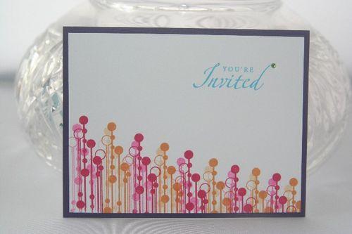 Invite summer colors