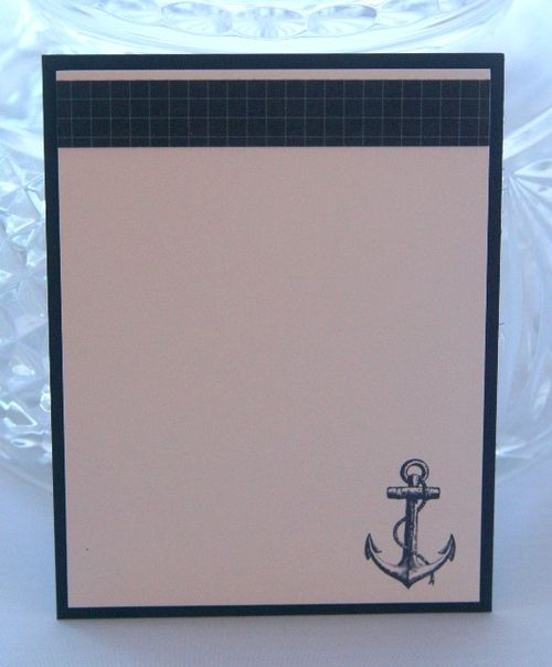 Note card anchor