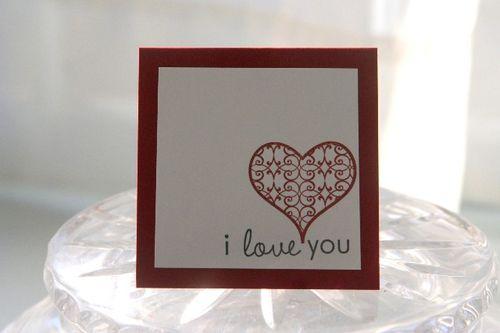 Mini heart love
