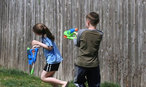 Water fight 6
