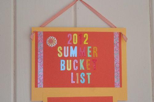 Summer list 2
