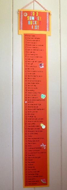 Summer list 1