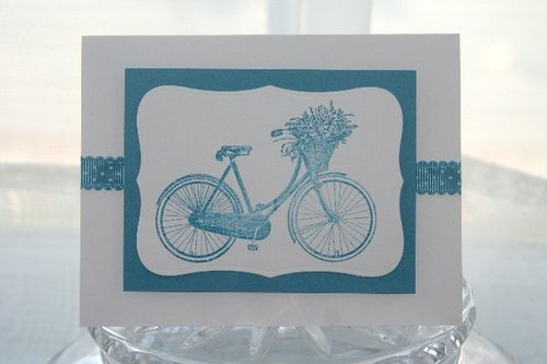 Bicycle blue
