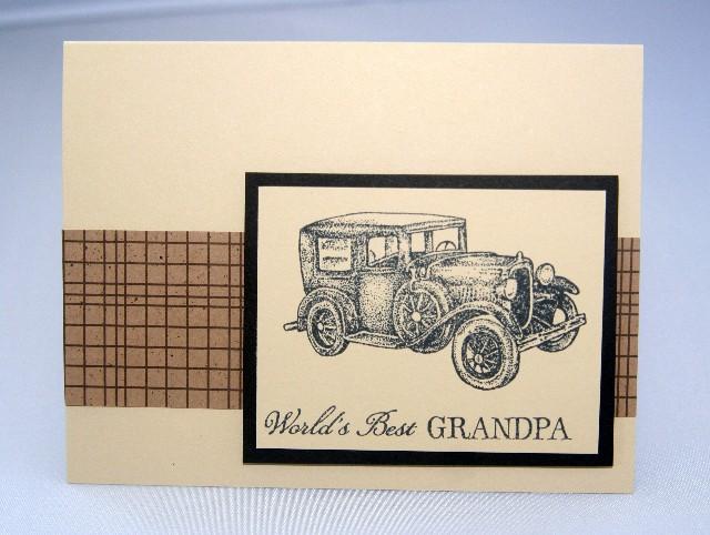 Grandpa car