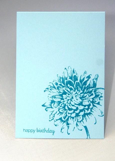 A1 bright blue flower