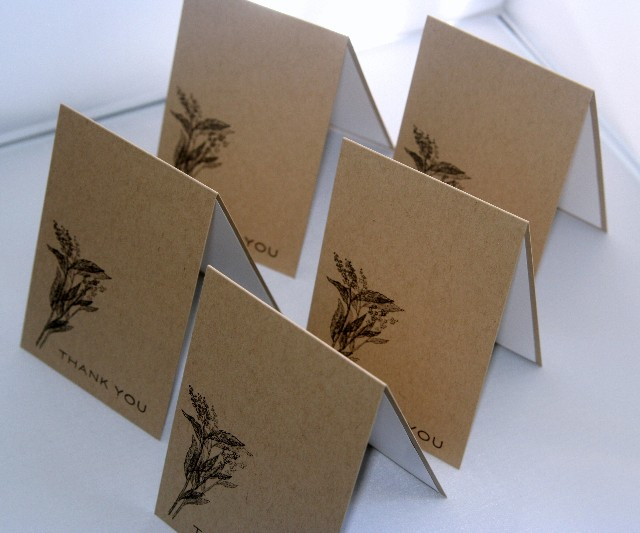 A1 flowers kraft set