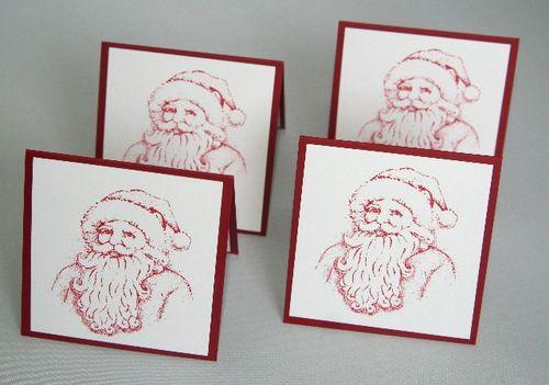 Santa red set