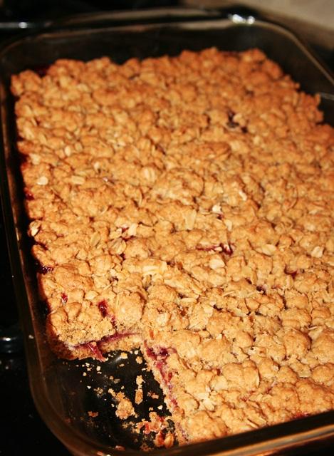 Recipe cranberry bars