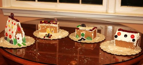 Gingerbread houses 16