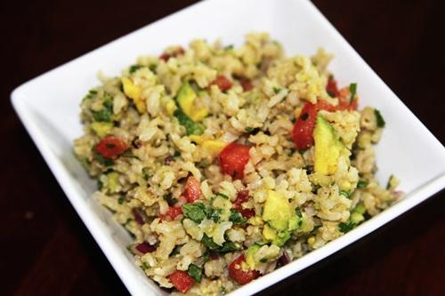 Recipe guacamole rice
