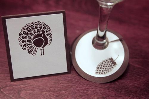 Wine charm set