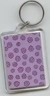 Keychain_purple_flower